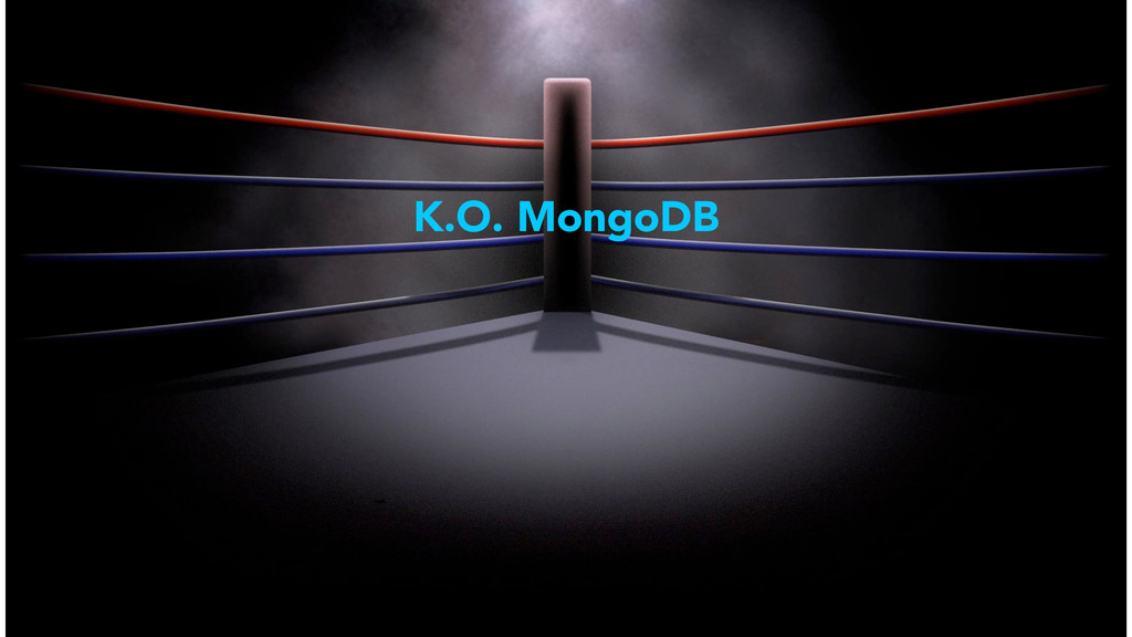 K.O. MongoDB