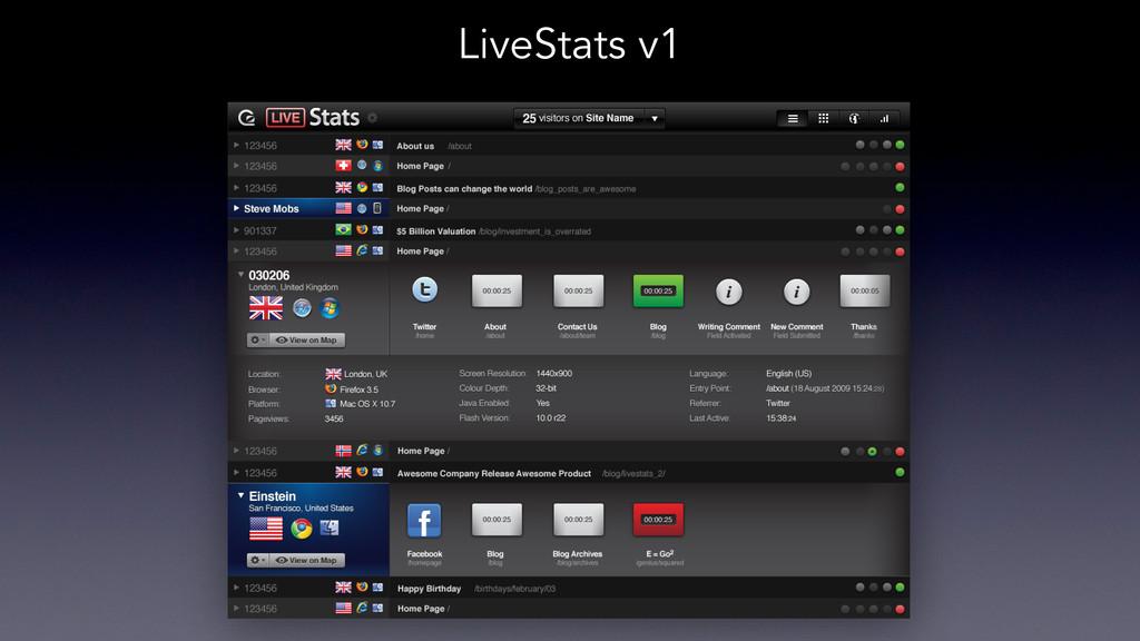LiveStats v1