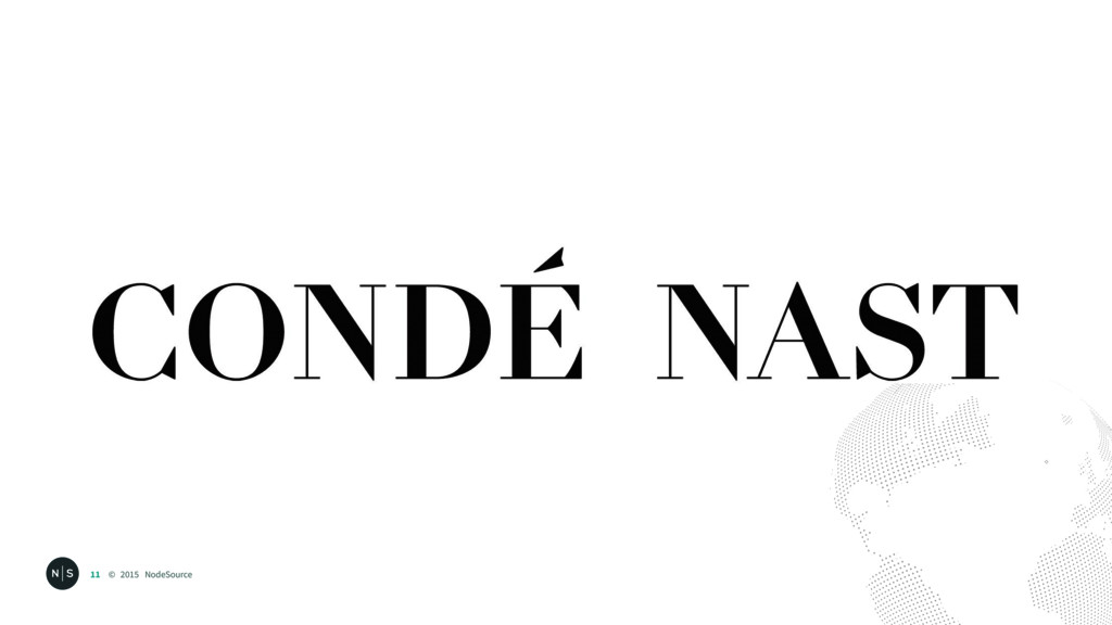 © 2015 NodeSource 11