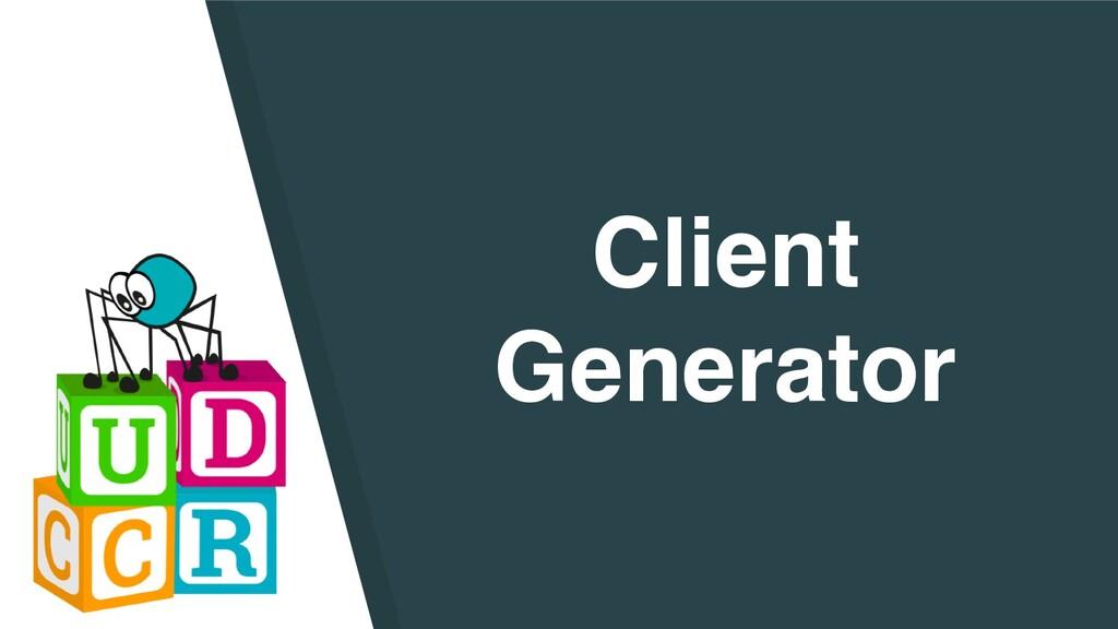 Client Generator