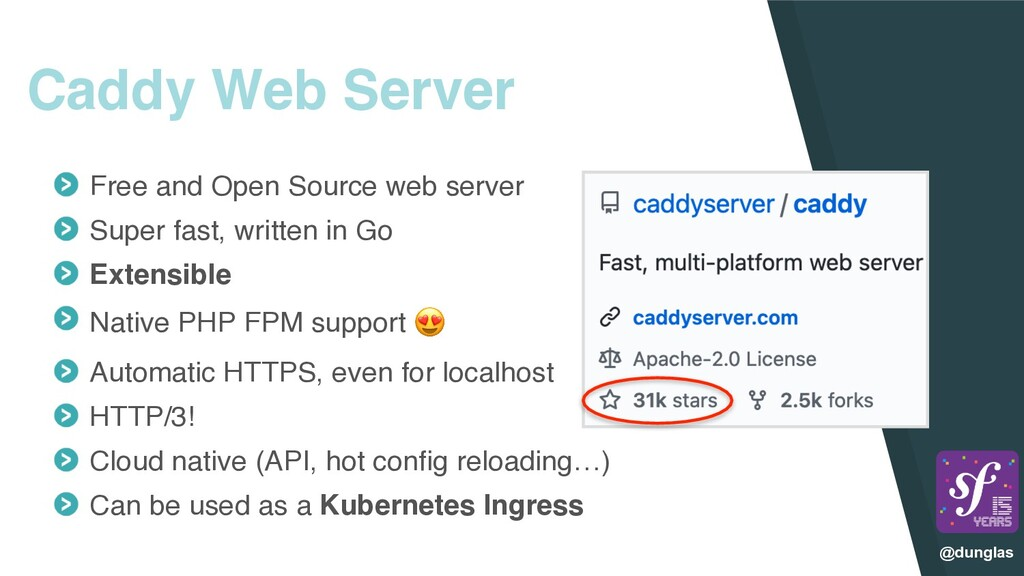 @dunglas Caddy Web Server Free and Open Source ...
