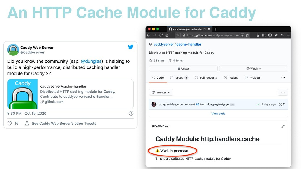 An HTTP Cache Module for Caddy
