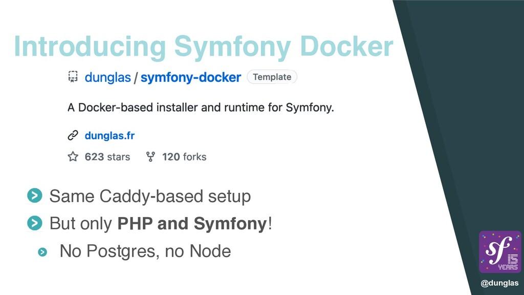 @dunglas Introducing Symfony Docker Same Caddy-...