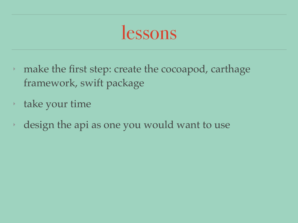 lessons ‣ make the first step: create the cocoap...