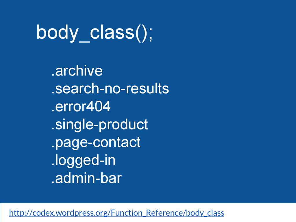 body_class(); .archive .search-no-results .erro...