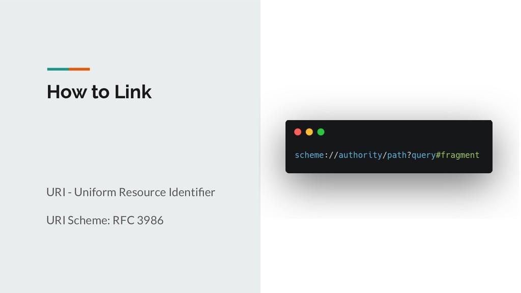 How to Link URI - Uniform Resource Identifier UR...