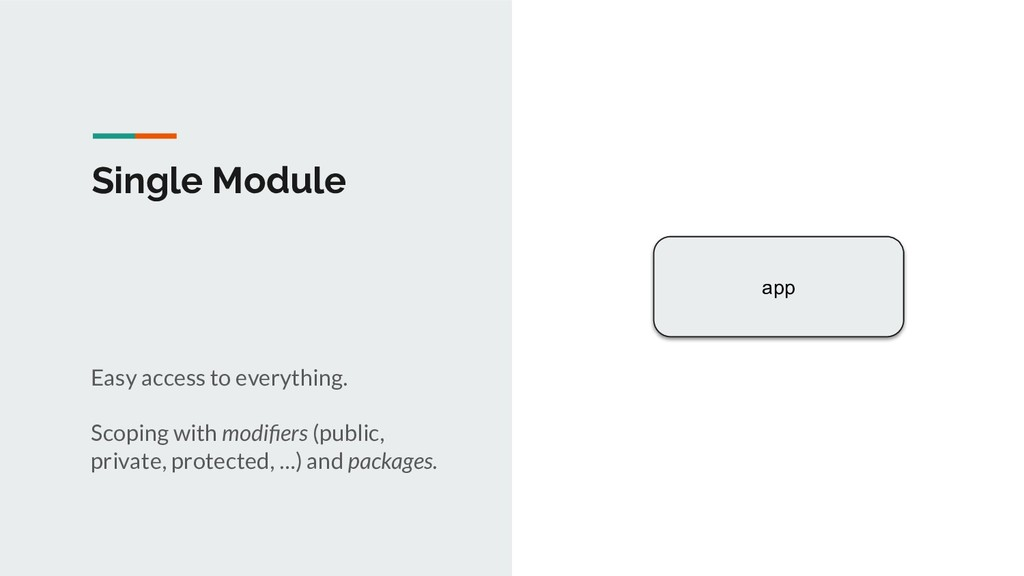 Single Module app Easy access to everything. Sc...