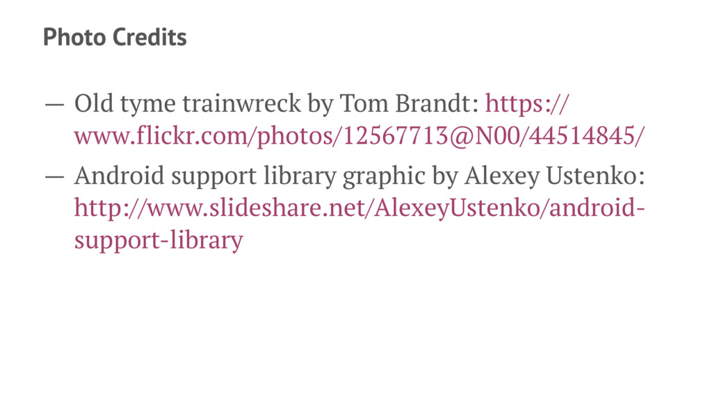 Photo Credits — Old tyme trainwreck by Tom Bran...