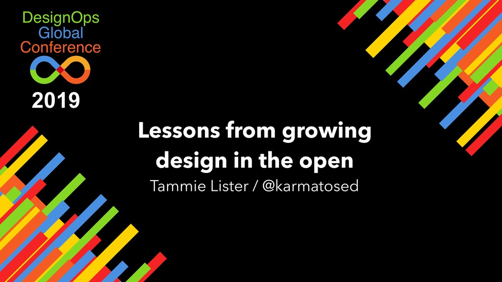 Global DesignOps Conference Lessons from growin...