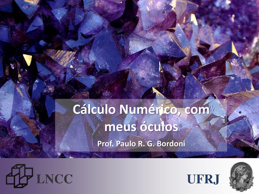 LNCC Cálculo Numérico, com meus óculos Prof. Pa...