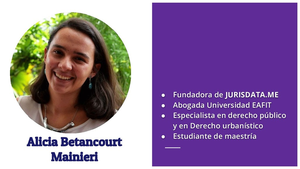 Alicia Betancourt Mainieri ● Fundadora de JURIS...