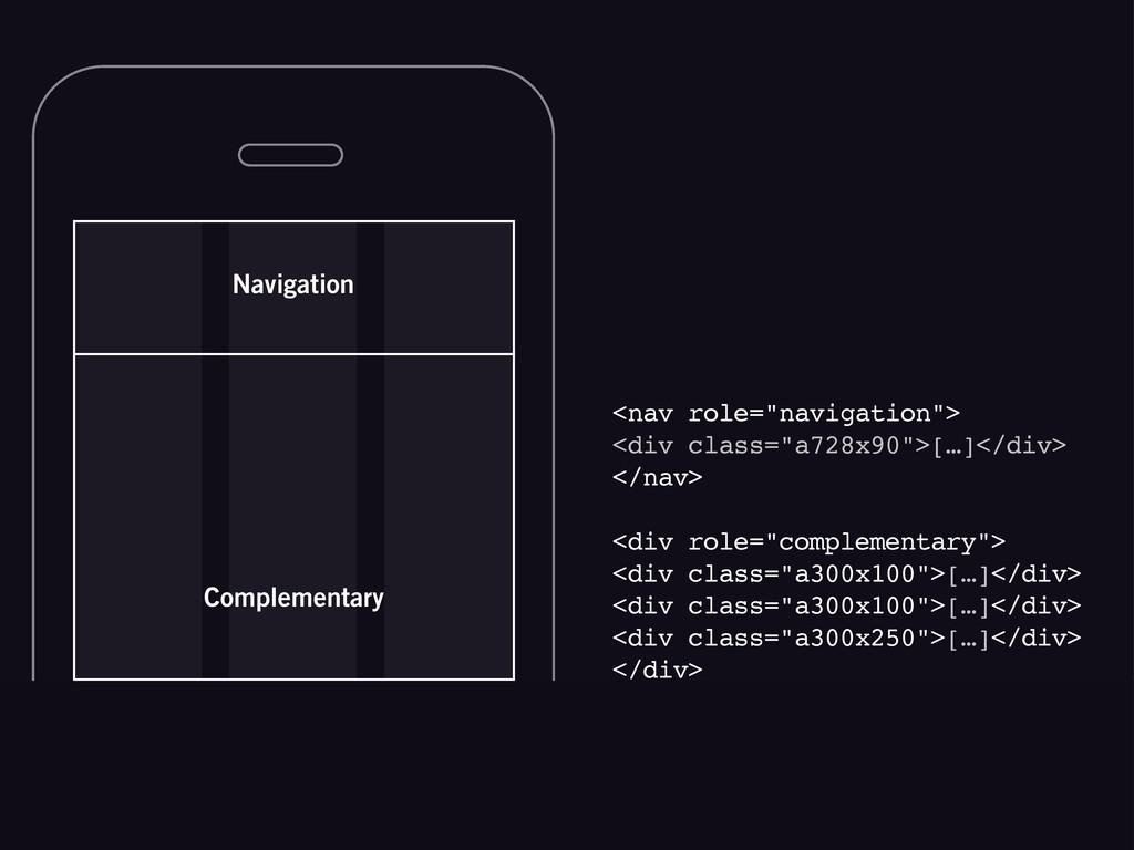 "Navigation <nav role=""navigation""> <div class=""..."