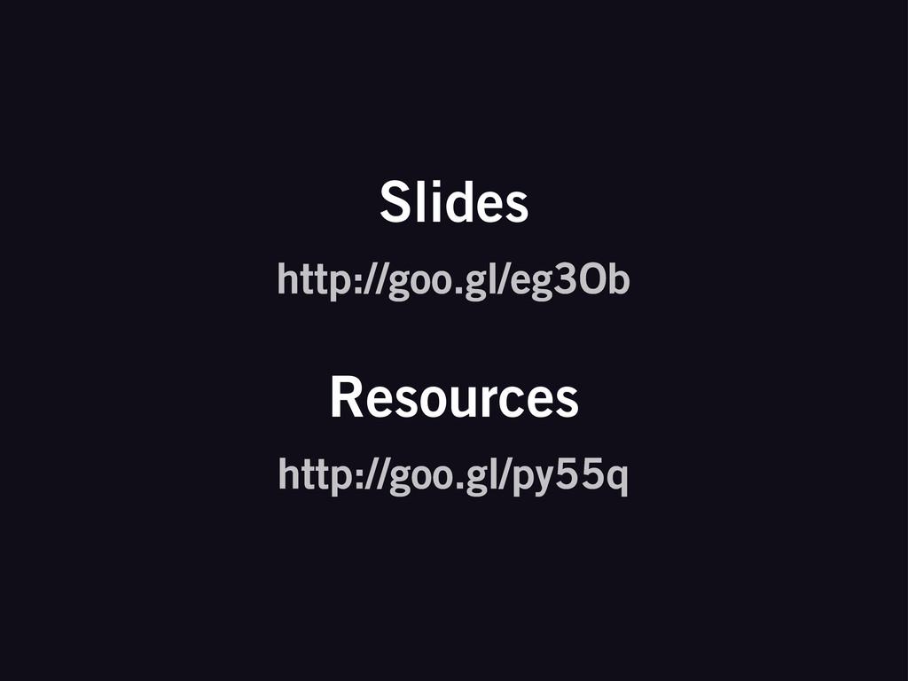 http://goo.gl/eg3Ob Slides http://goo.gl/py55q ...