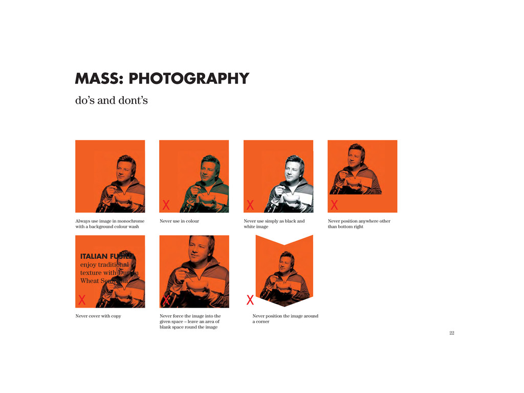 22 MASS: PHOTOGRAPHY Always use image in monoch...
