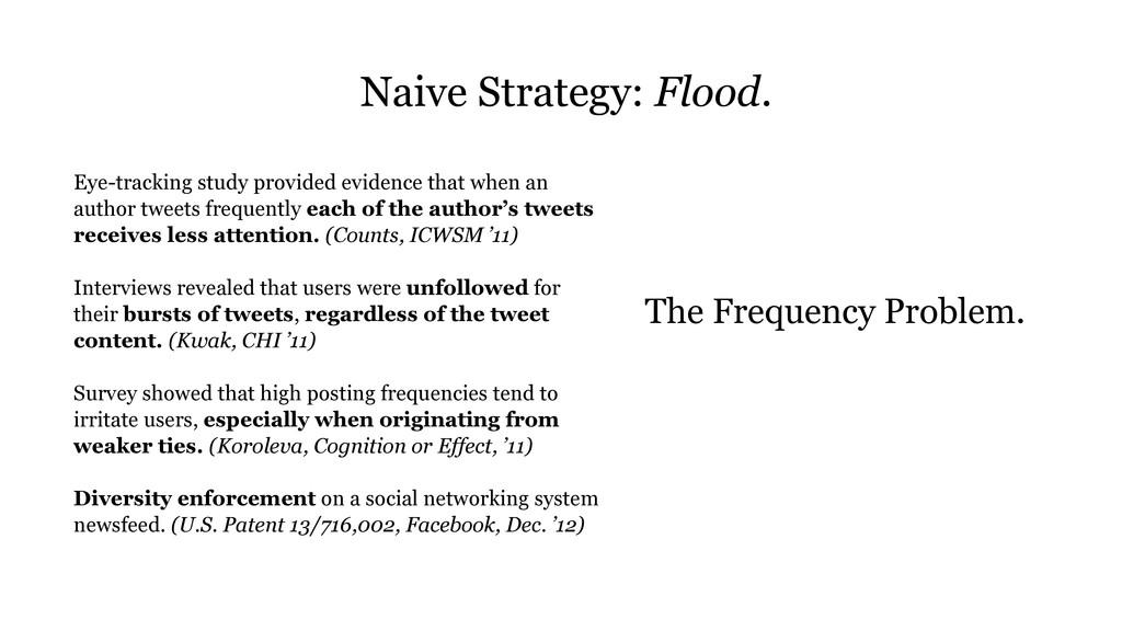 Naive Strategy: Flood. Eye-tracking study provi...