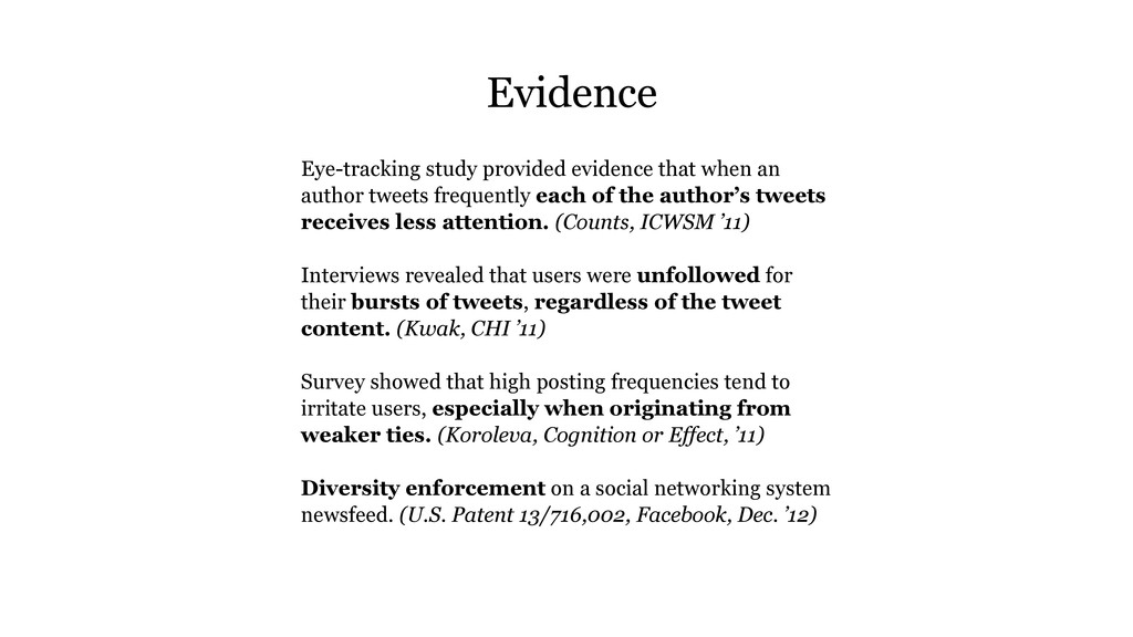 Eye-tracking study provided evidence that when ...