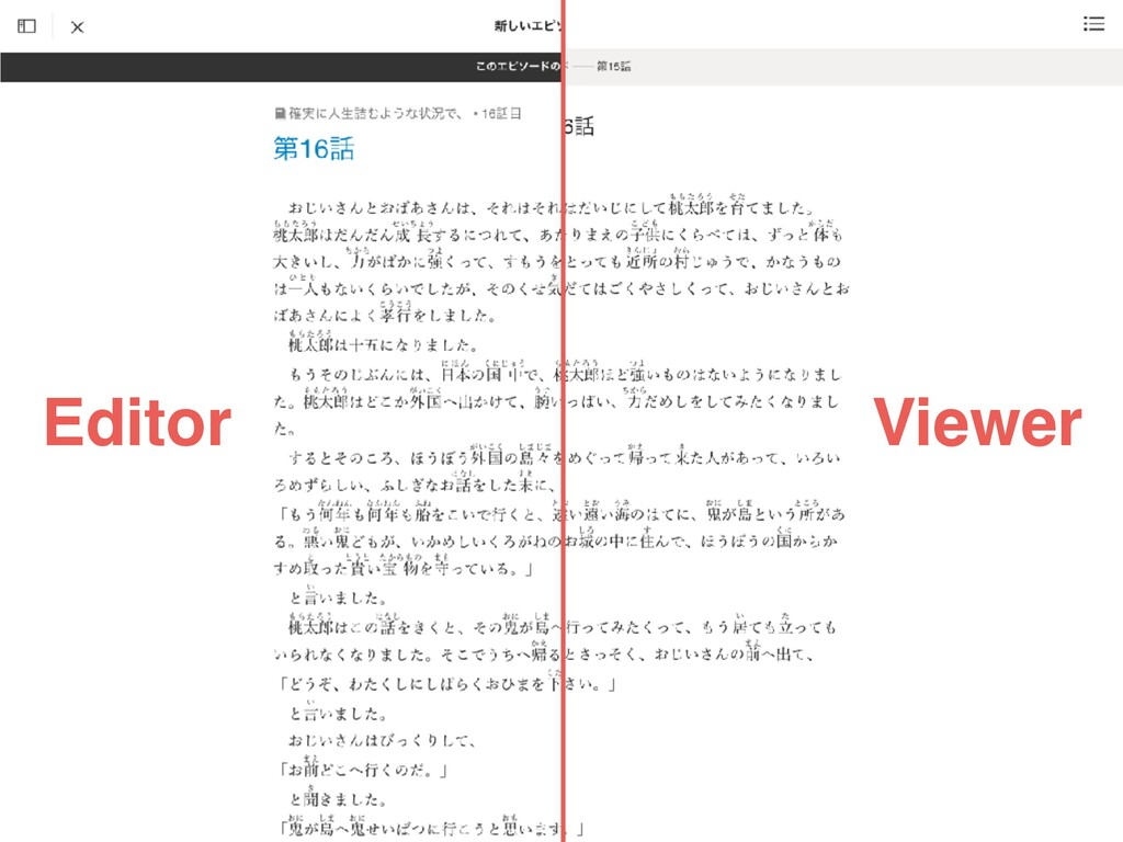 Editor Viewer