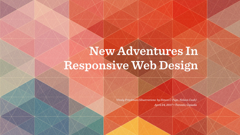 New Adventures In Responsive Web Design Vitaly ...