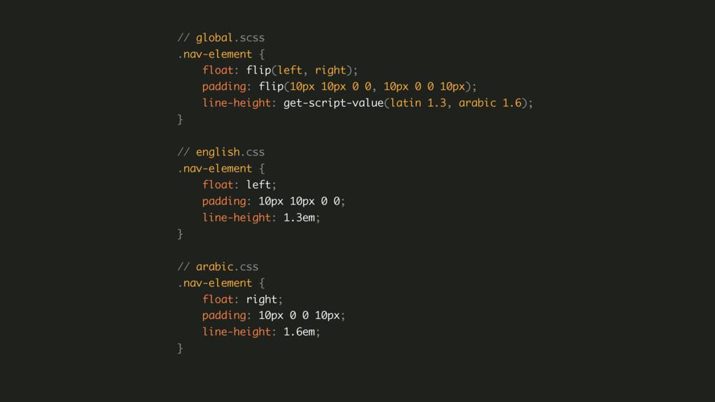 // global.scss .nav-element { float: flip(lef...