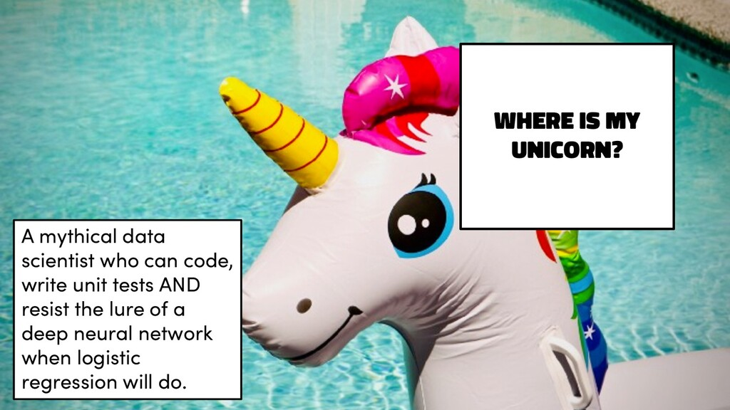 Where is my unicorn? A mythical data scientist ...