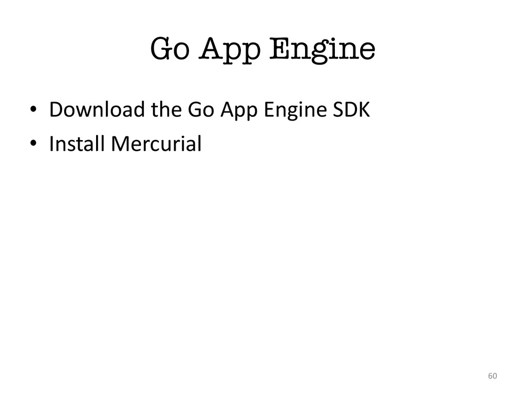 Go App Engine • Download the Go App ...
