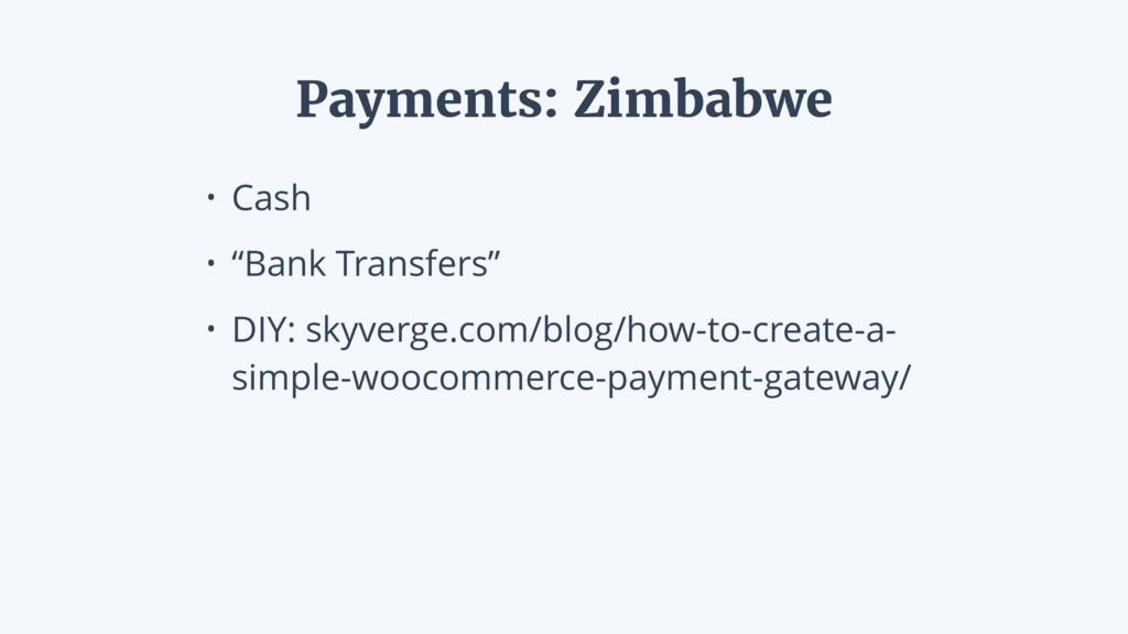 """• Cash • """"Bank Transfers"""" • DIY: skyverge.com/b..."""