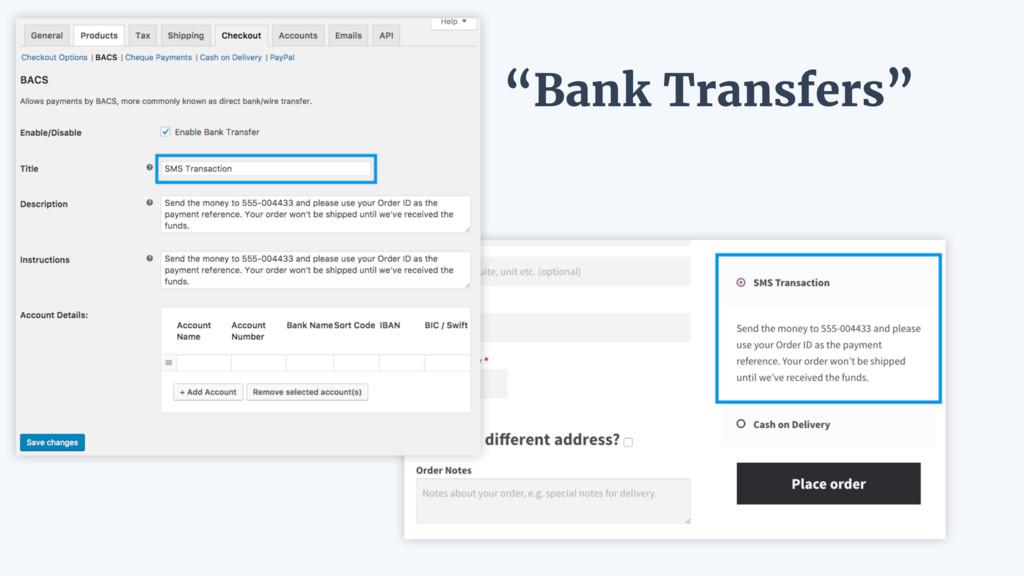 """Bank Transfers"""