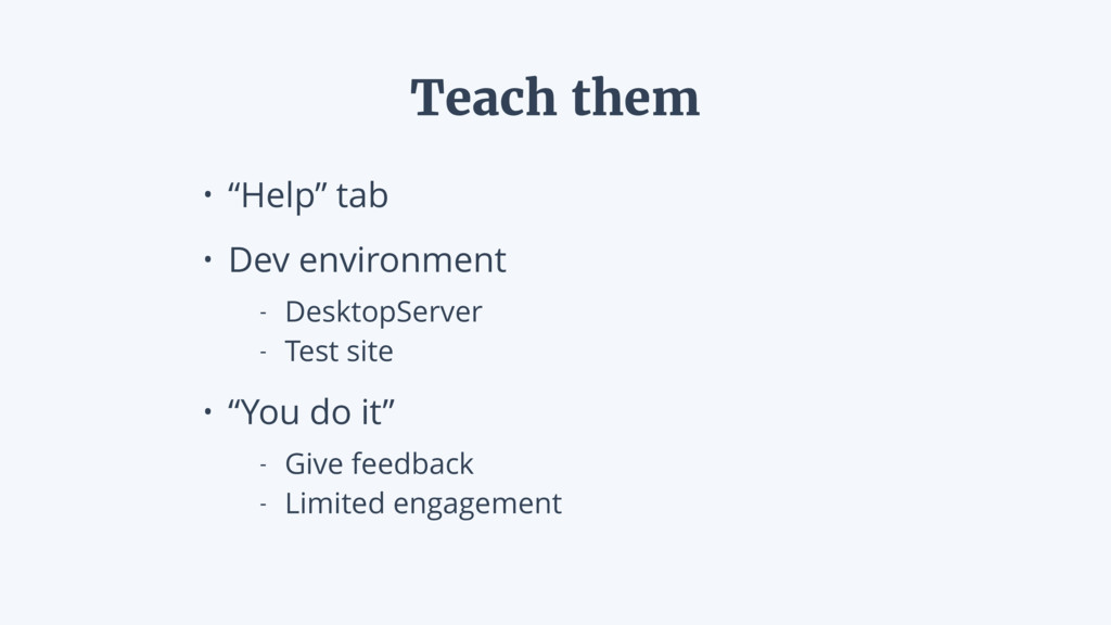 """• """"Help"""" tab • Dev environment - DesktopServer ..."""
