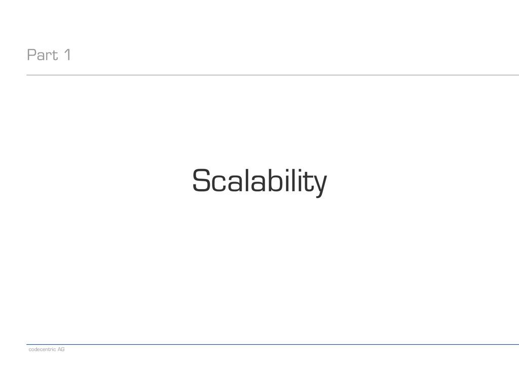 codecentric AG Part 1 Scalability