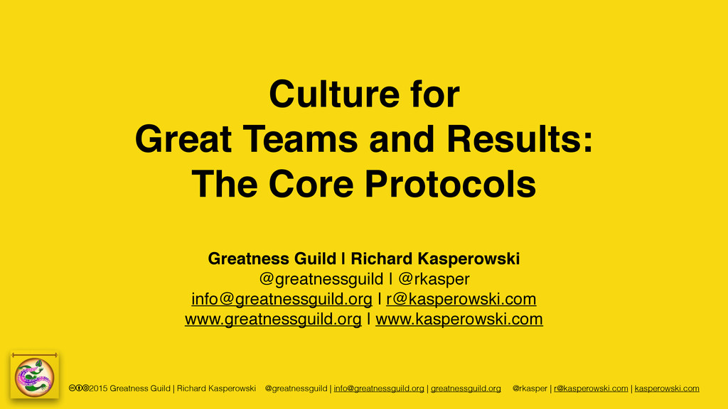 cba2015 Greatness Guild | Richard Kasperowski @...