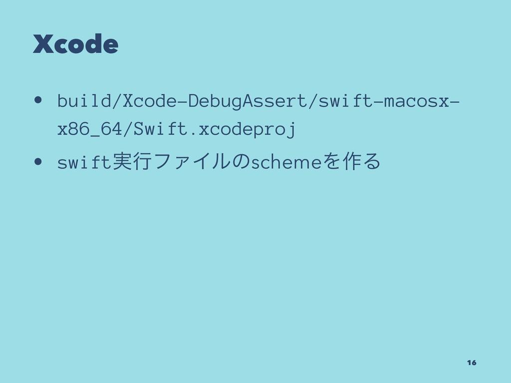 Xcode • build/Xcode-DebugAssert/swift-macosx- x...