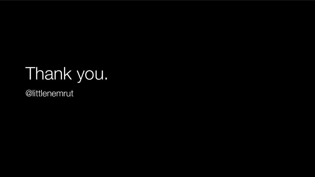 Thank you. @littlenemrut
