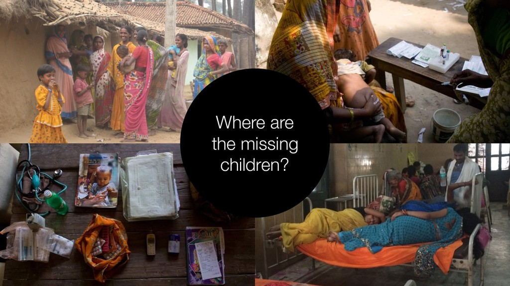 Where are the missing children?