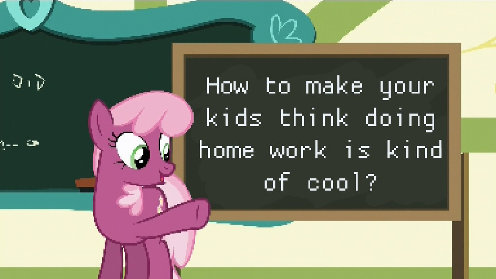 How to make your kids think doing home work is ...