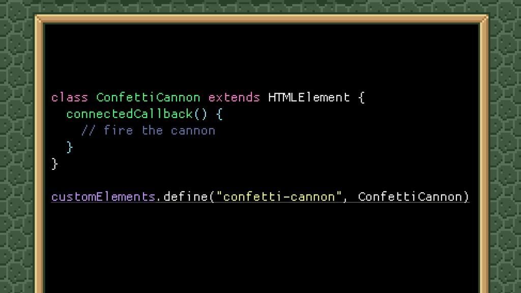 class ConfettiCannon extends HTMLElement {  con...