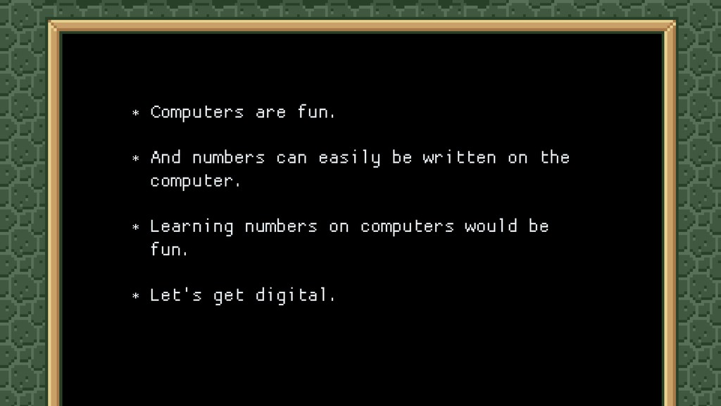 * Computers are fun.  * And numbers can easily ...