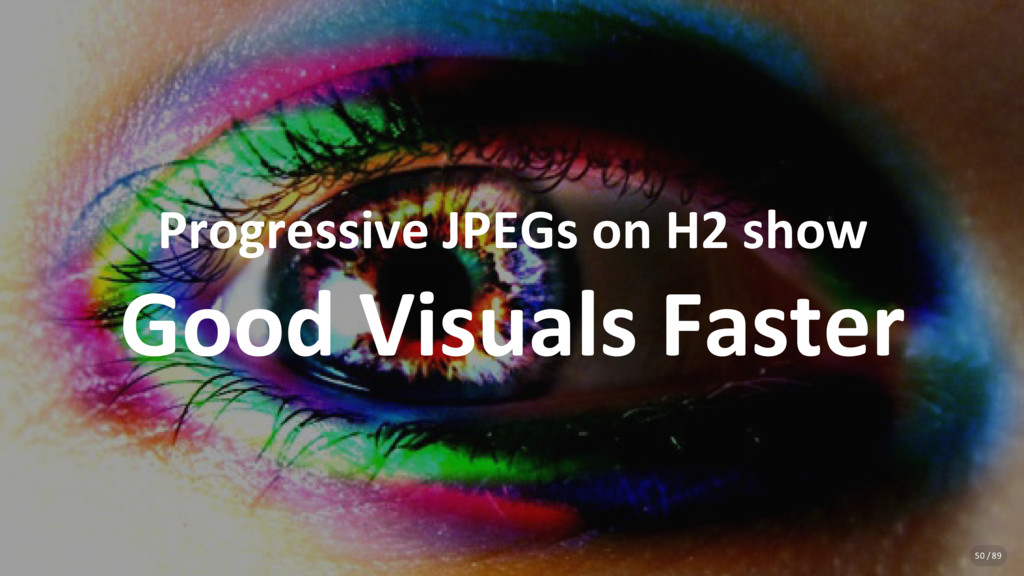Progressive JPEGs on H2 show Good Visuals Faste...
