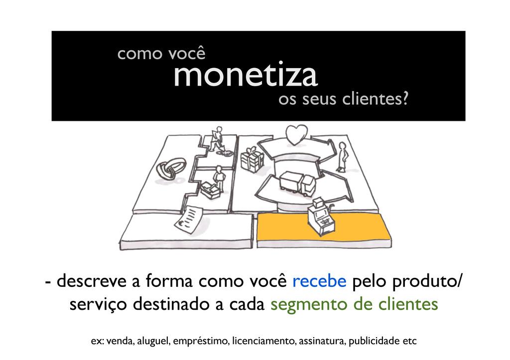 monetiza - descreve a forma como você recebe pe...