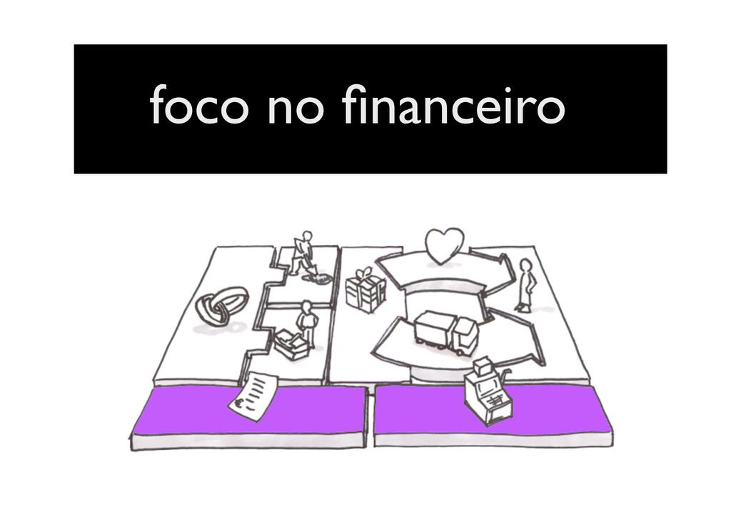 foco no financeiro