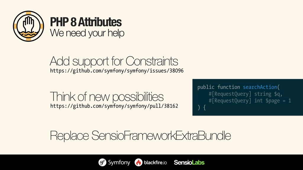 PHP 8 Attributes We need your help https://gith...
