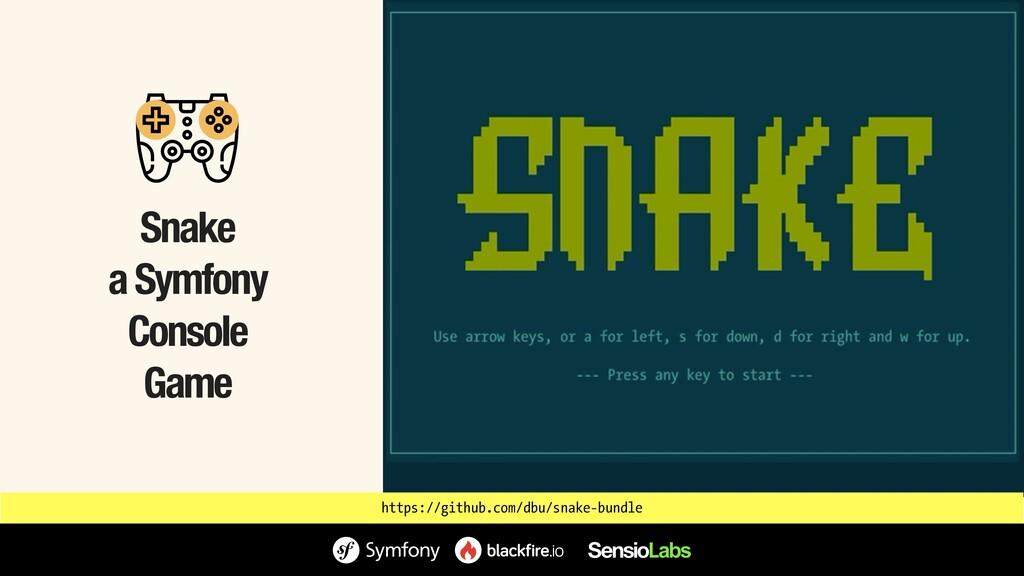 Snake a Symfony Console Game https://github.com...