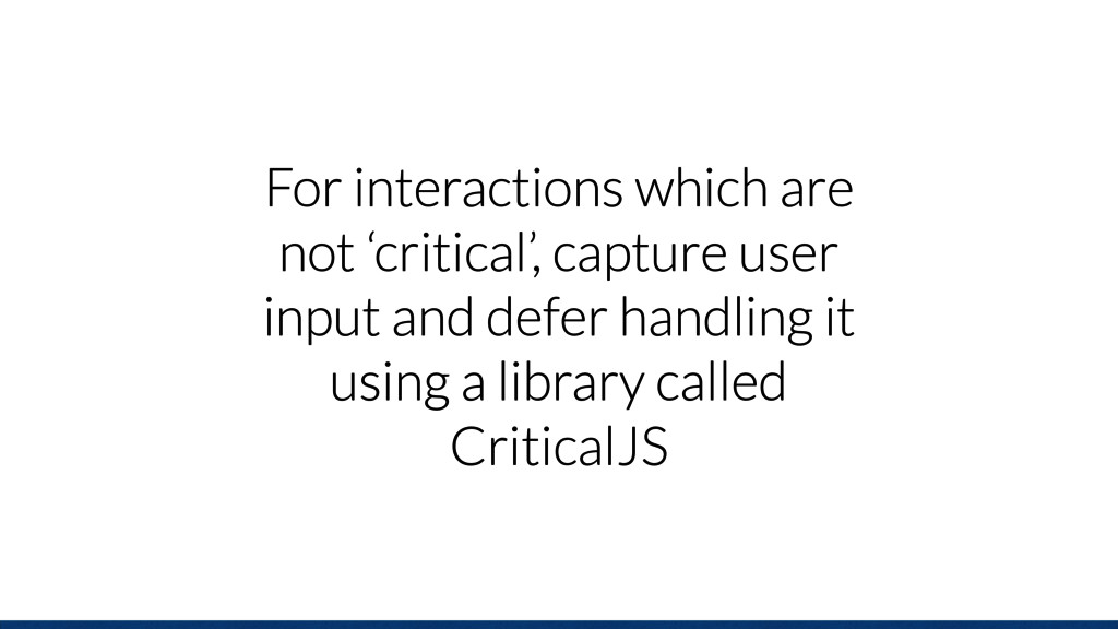 For interactions which are not 'critical', capt...
