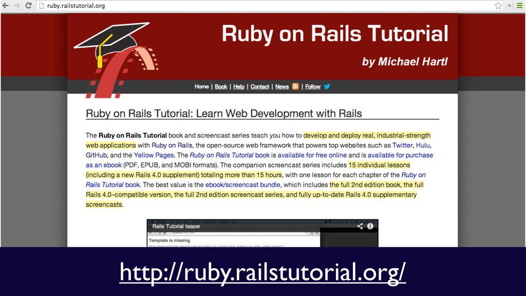 http://ruby.railstutorial.org/