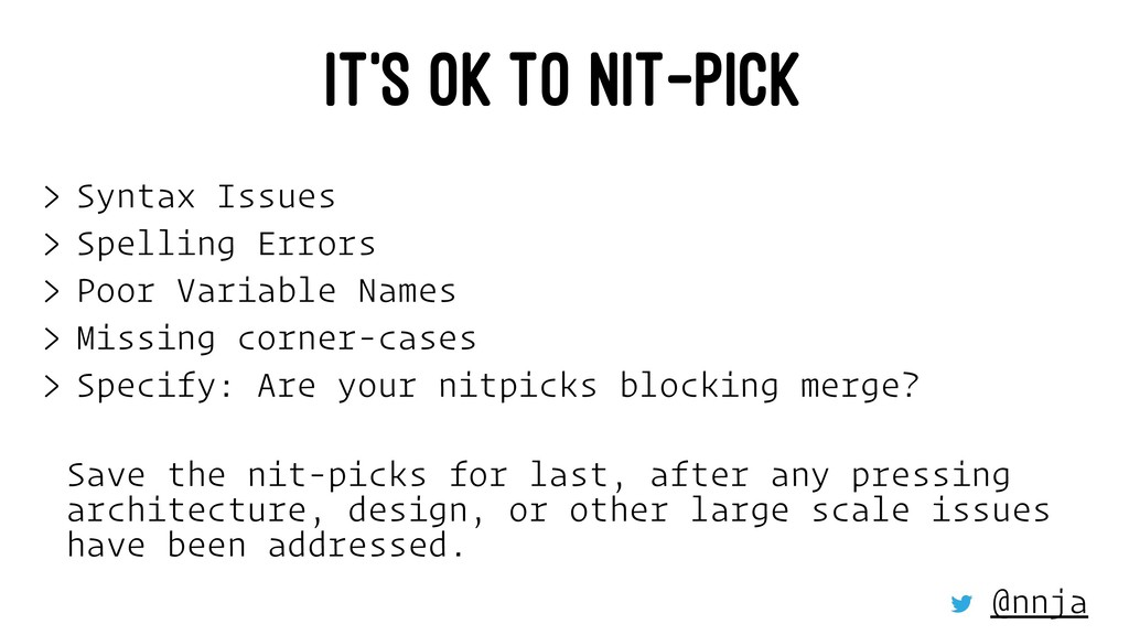 IT'S OK TO NIT-PICK > Syntax Issues > Spelling ...