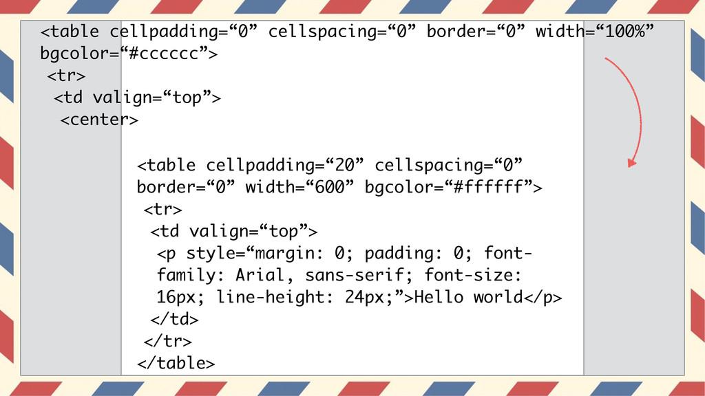 """<table cellpadding=""""0"""" cellspacing=""""0"""" border=""""..."""