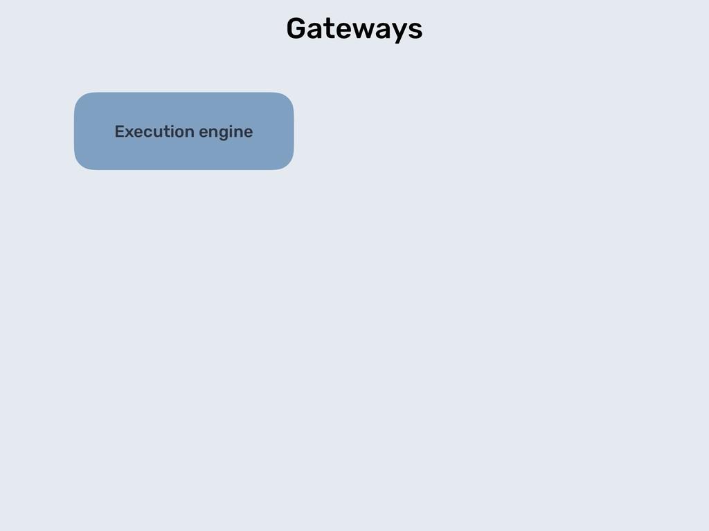 Gateways Execution engine