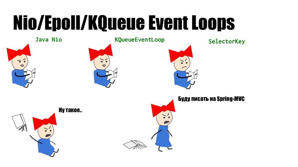 Java Nio Nio/Epoll/KQueue Event Loops KQueueEve...