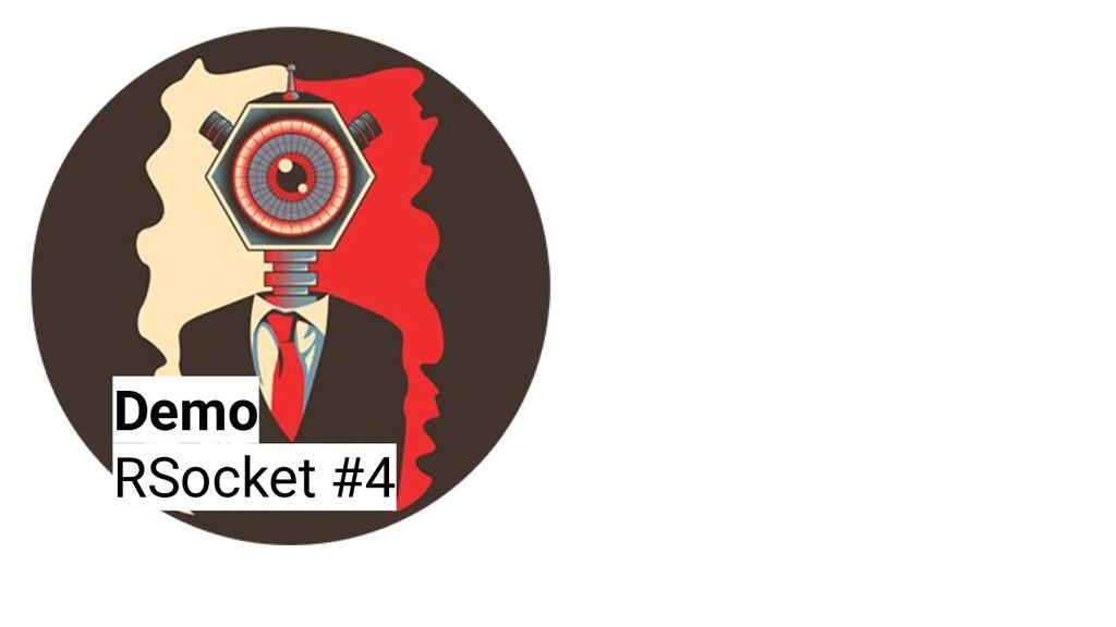 Demo RSocket #4