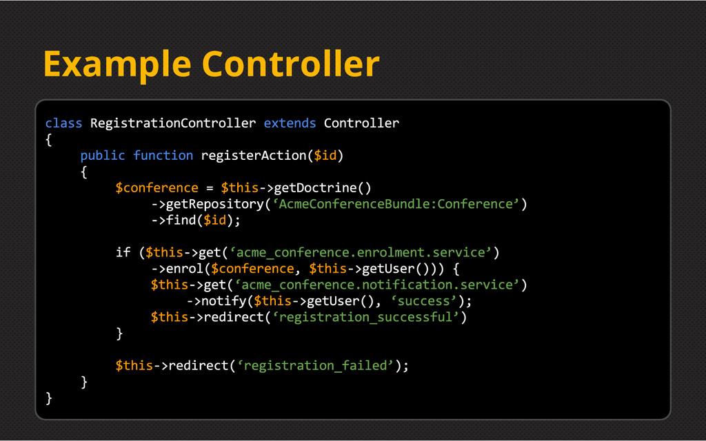 Example Controller