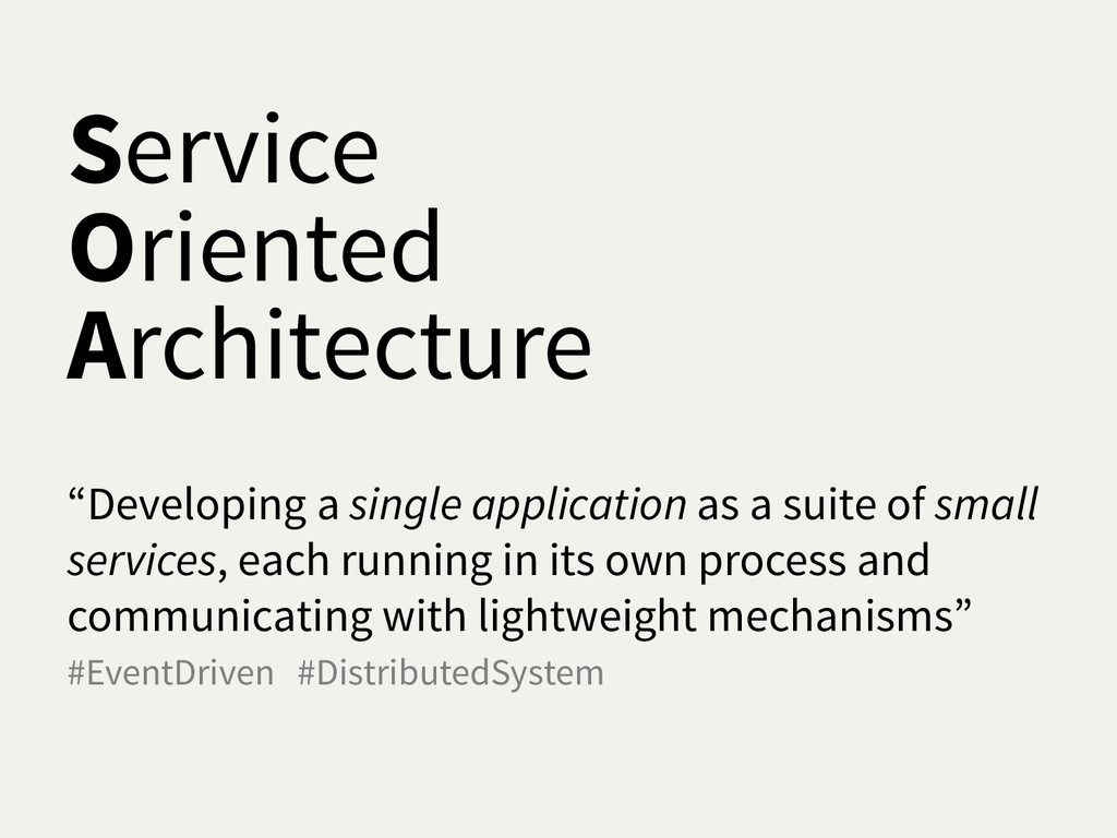 "Service Oriented Architecture ""Developing a sin..."